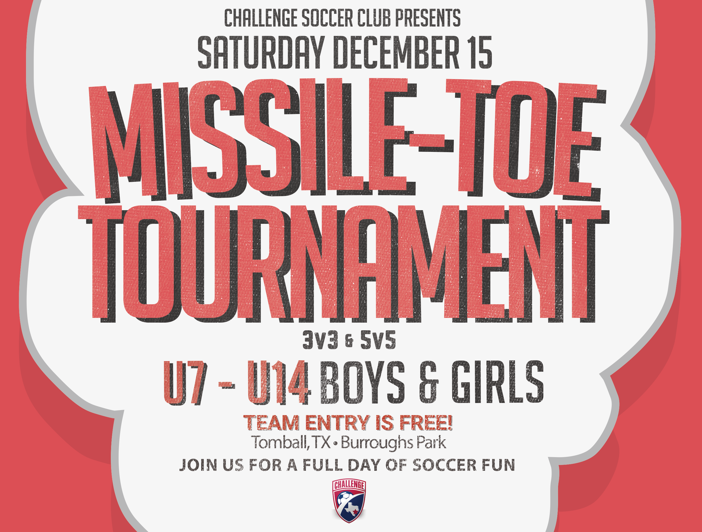 Missile-Toe Tournament Brackets - December 15th